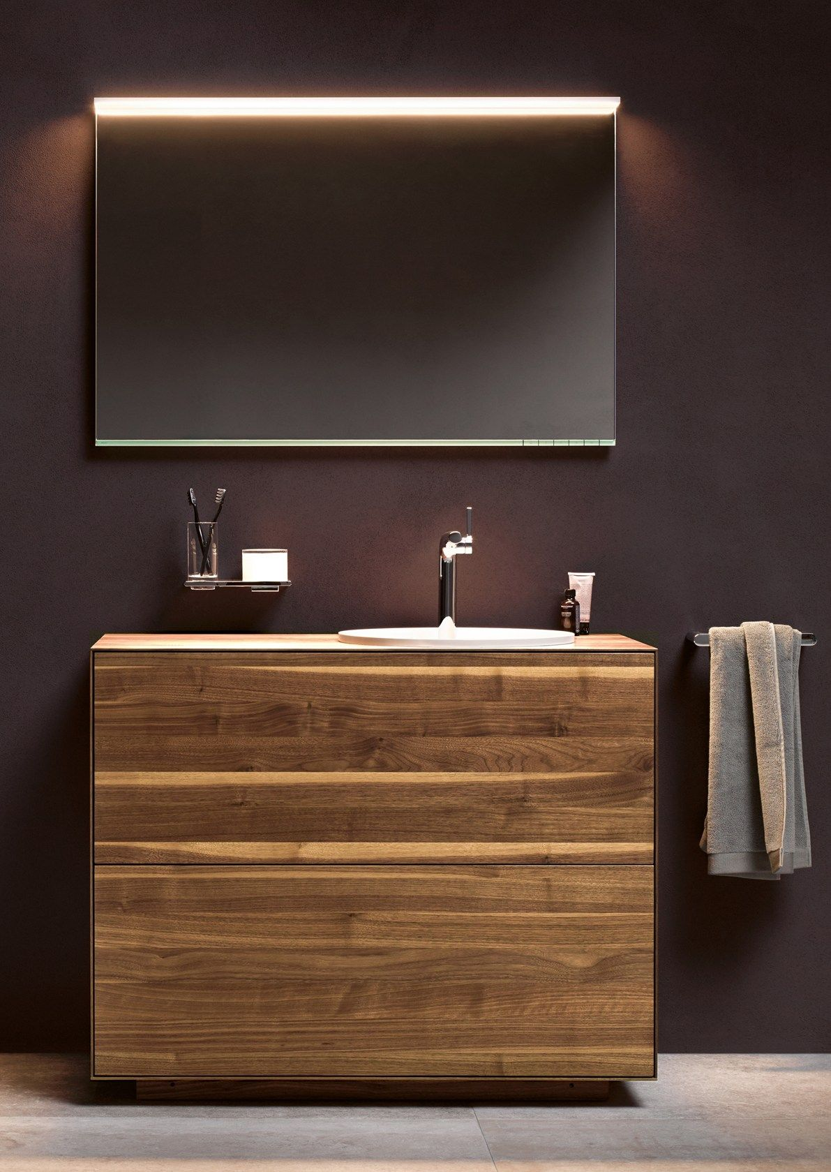 keuco + team 7 edition lignatur, the new bathroom furnishing, Badezimmer