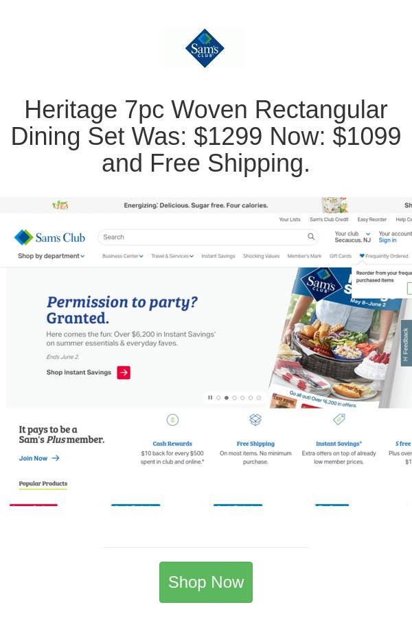 sam club shipping coupon code