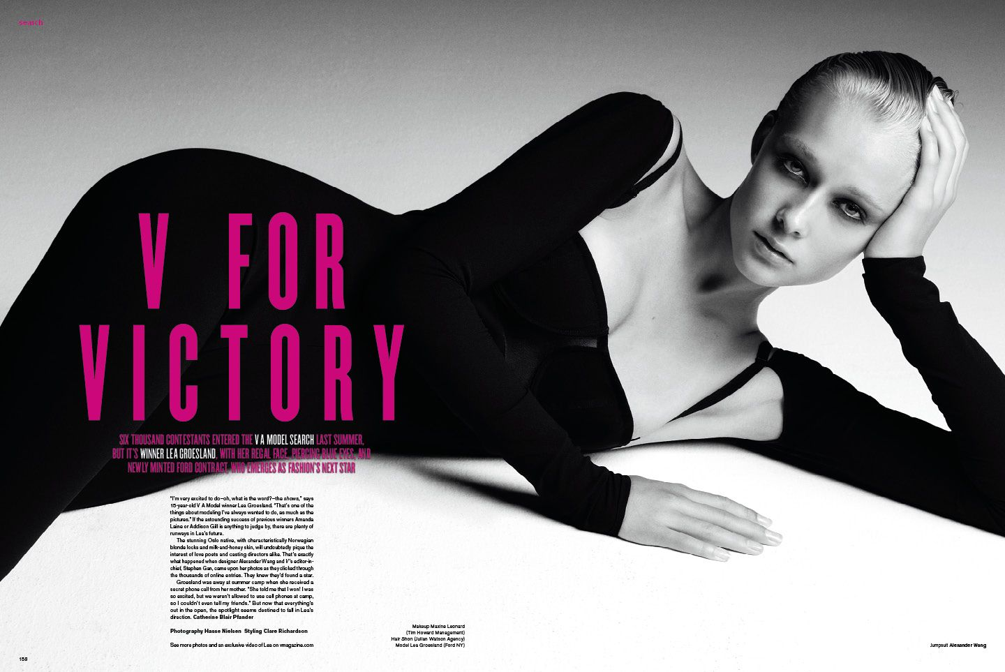 V Magazine And Ford Nationwide Model Search For The Next Female Face Of Fashion V Magazine Woman Face Magazine