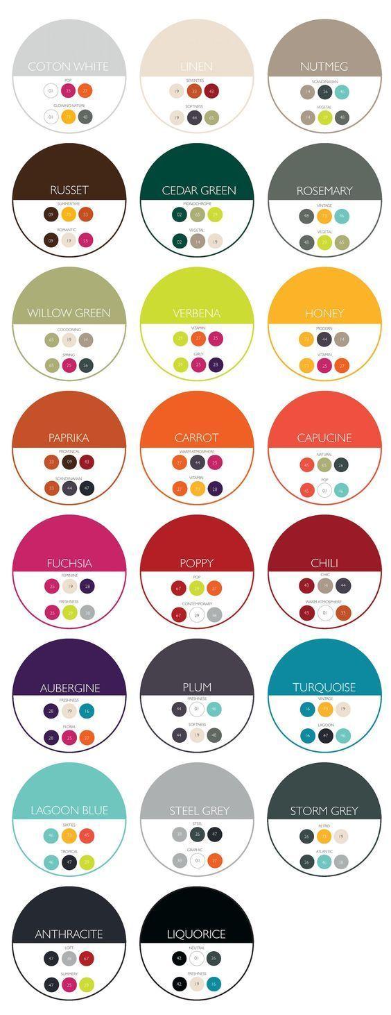 Pin En Combinacion De Colores Para Pintar