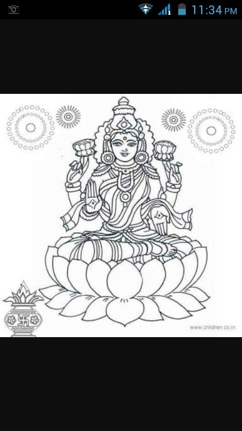 Rangoli design | Diwali | Pinterest | Hindúes, Mandalas and Dioses ...