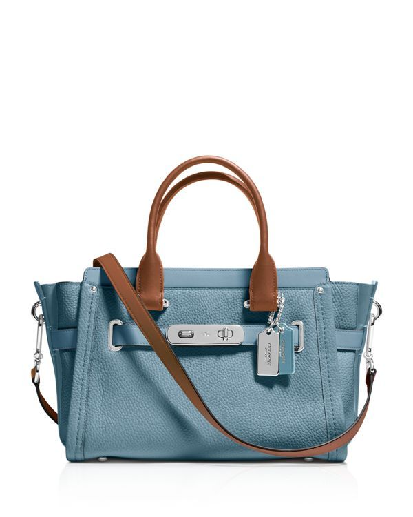 55c8600eed1 Coach Swagger 27 Carryall in Colorblock Leather | girls love ...