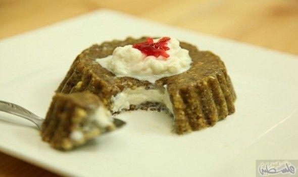 مفروكة الفستق الحلبي والقشدة المنزلية Food Desserts Party Desserts