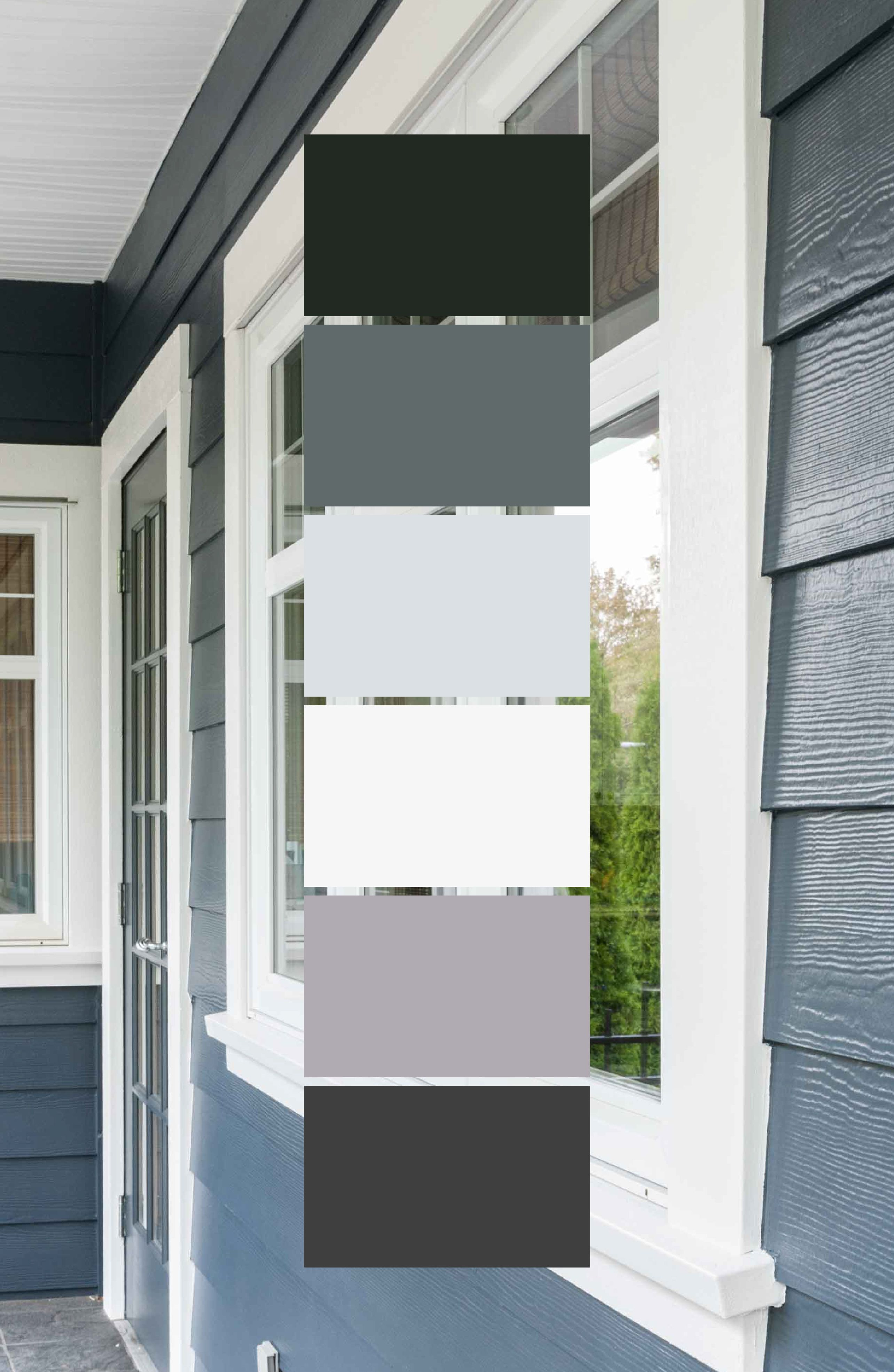 Benjamin Moore Mysterious Exterior Exterior Paint Colors For