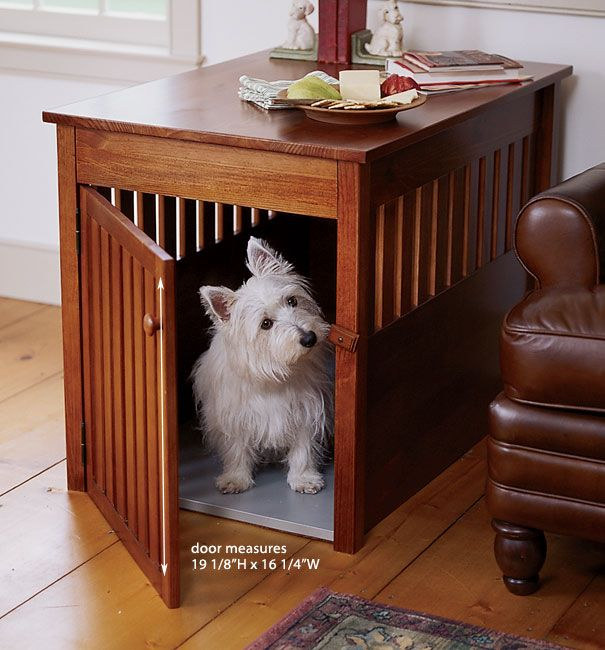 Just Found This Dog Crate Furniture Solid Wood Orvis On