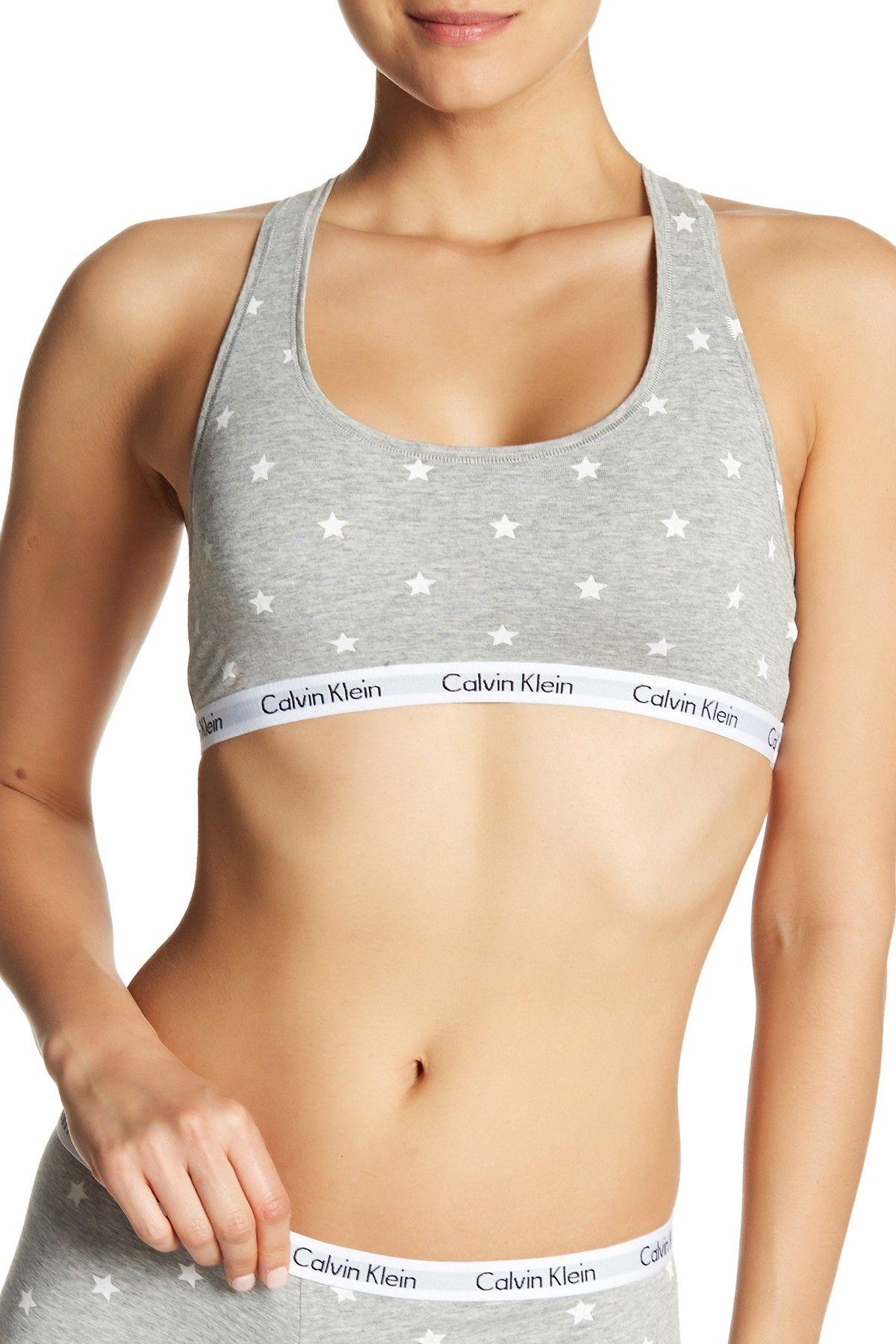 0e113a3d3beb Calvin Klein Carousel Racerback Bralette | Products | Calvin klein ...