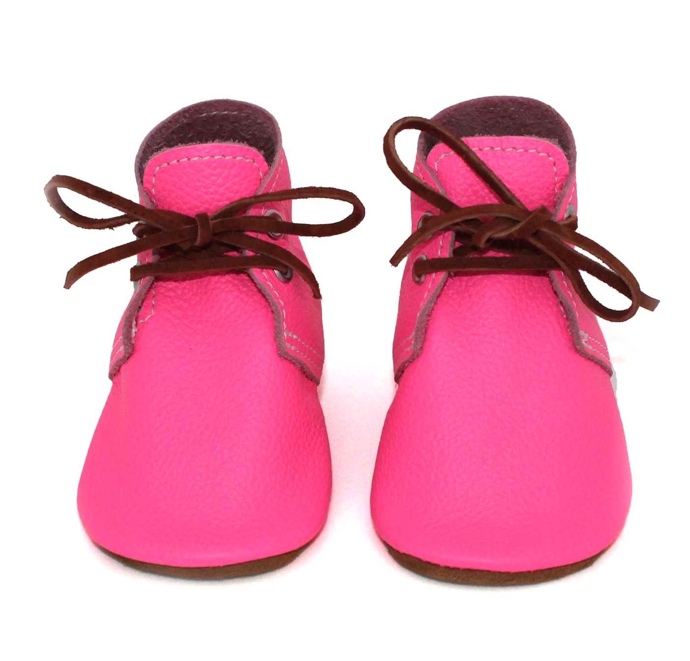 the oxford: shocking pink (With images) | Baby boots, Kids