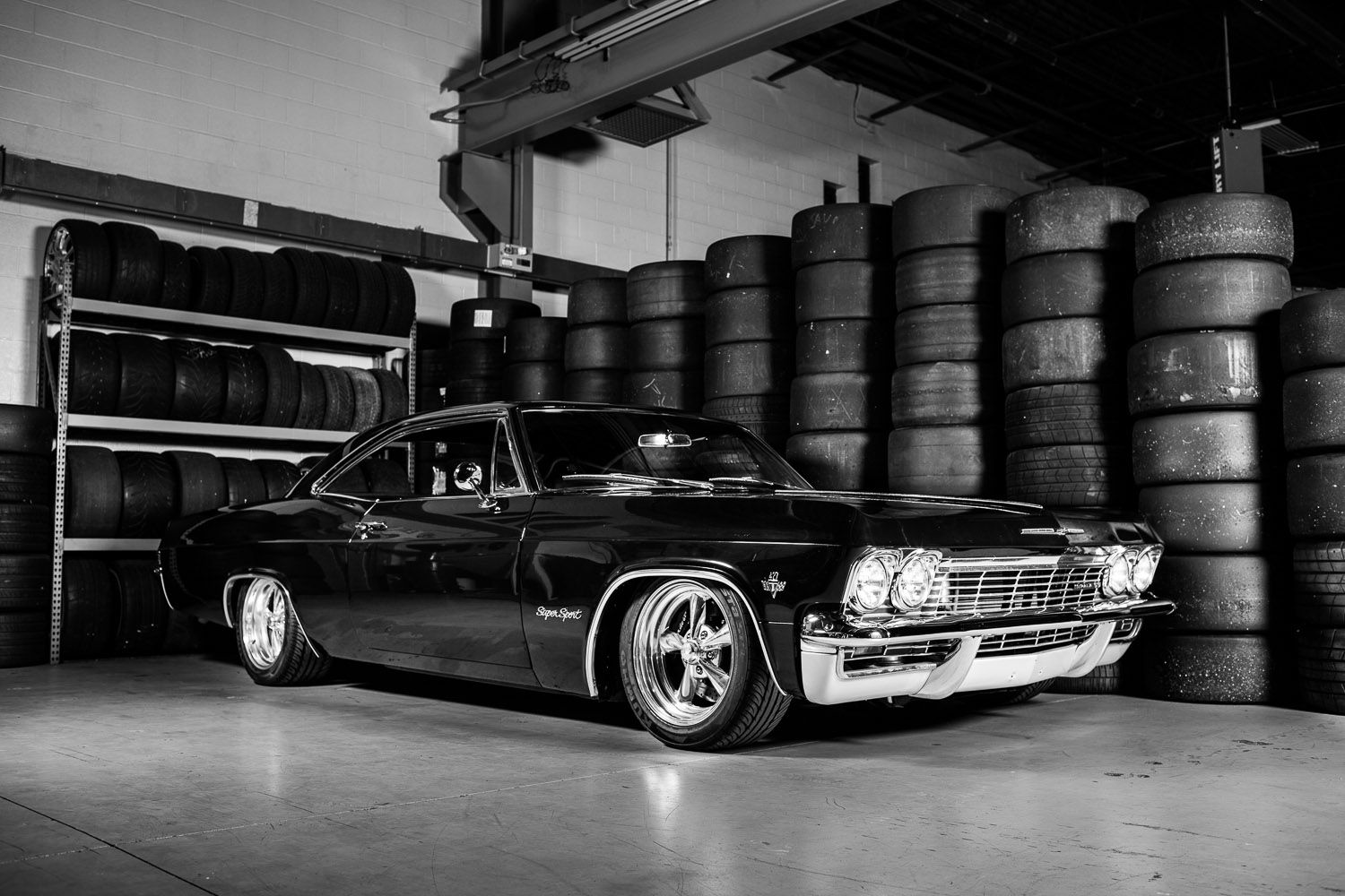 blackdog 427 powered 39 65 impala bad ass classic cars pinterest super sport cars and chevrolet. Black Bedroom Furniture Sets. Home Design Ideas