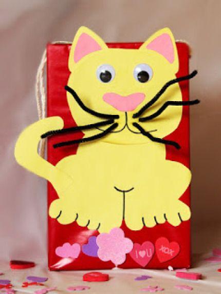 valentine cat box