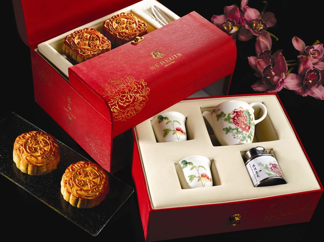 Moon Cake Packaging Design Vector : mid autumn gift set singapore - Google Search Packaging ...