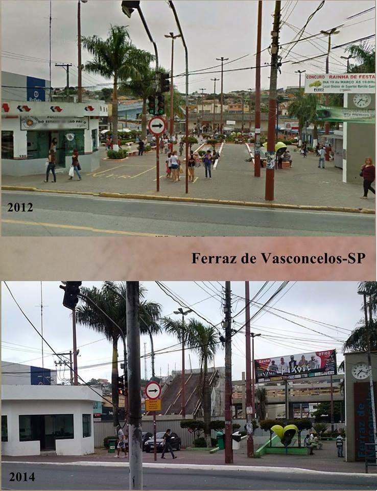 Redescobrindo o Alto Tietê: Antes e depois - Ferraz de Vasconcelos