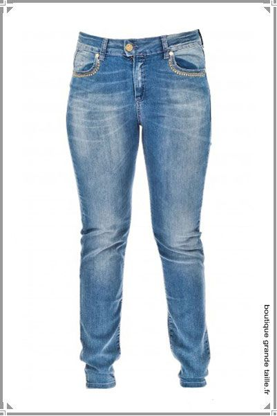 Jean bootcut femme grande taille