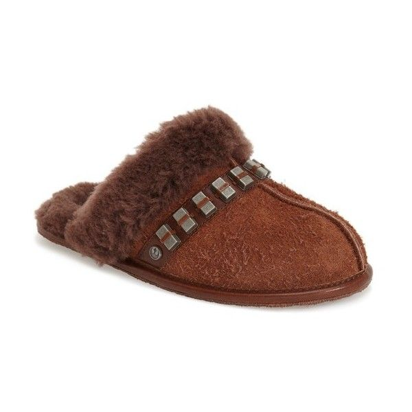 Womens Slippers UGG Chewbacca Scuffette Wookie