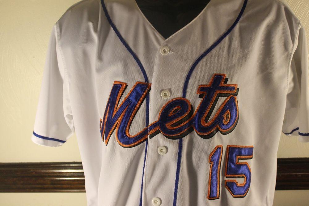 New York Mets Jersey White Vintage Mlb Carlos Beltran 15