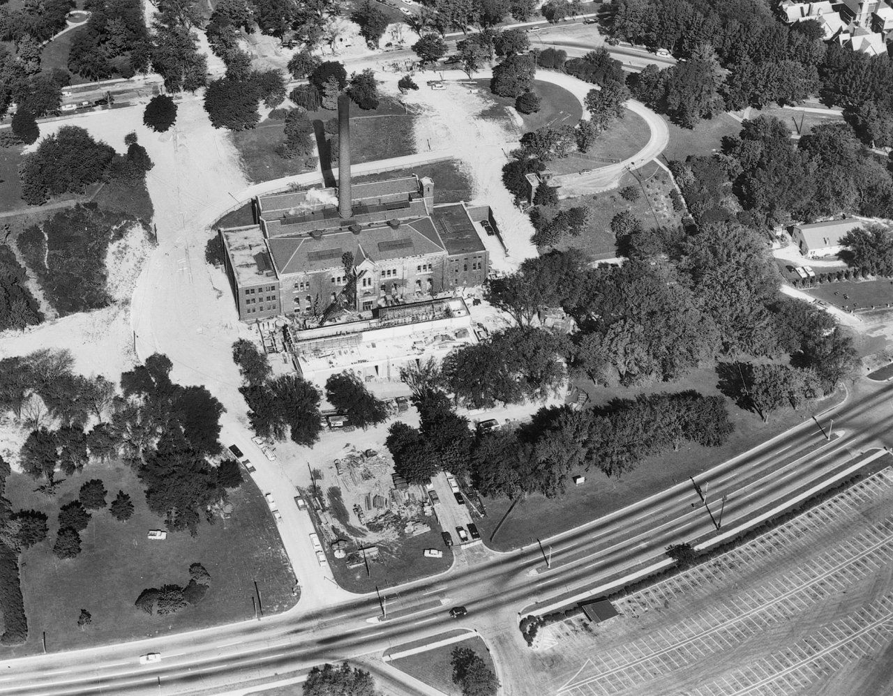 North Point Pumping Station Aerial 2