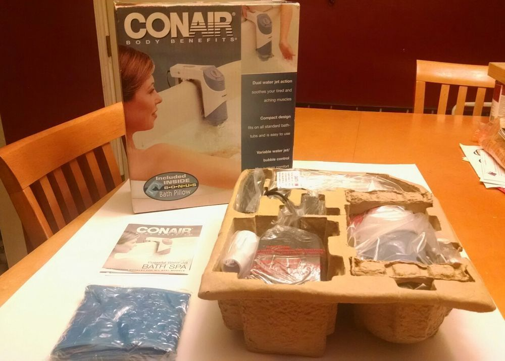 Conair Body Benefits Bath Spa BTS1DWG Dual Water Jet Action New ...
