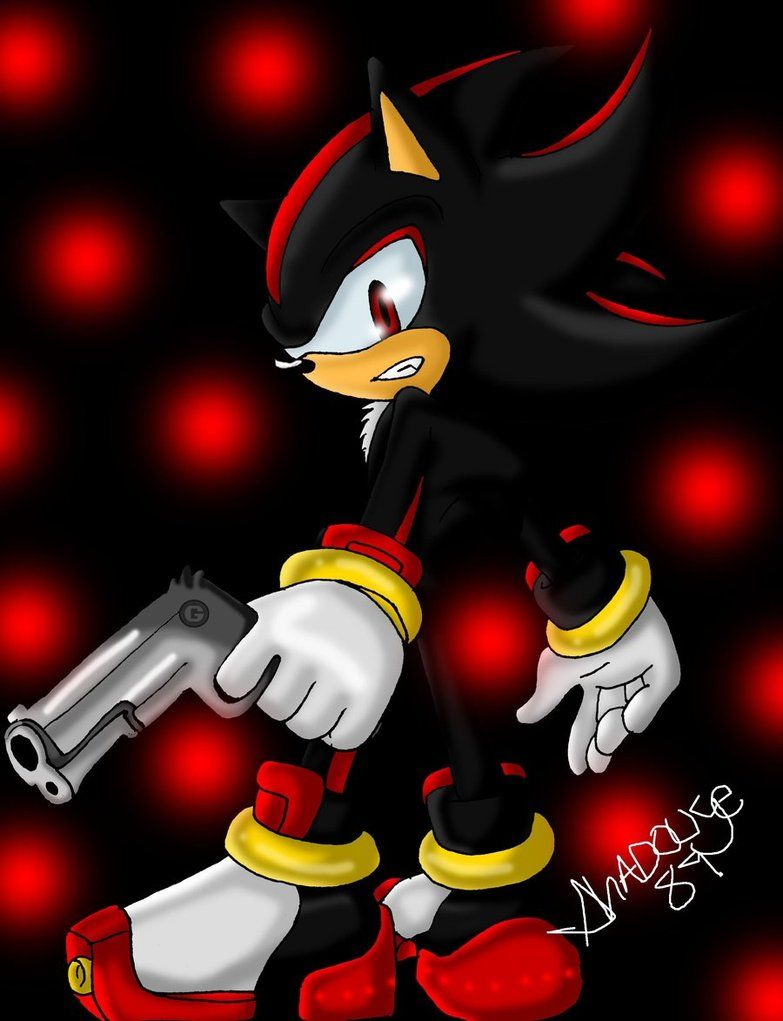 27+ Super Shadow The Hedgehog With Gun Pictures