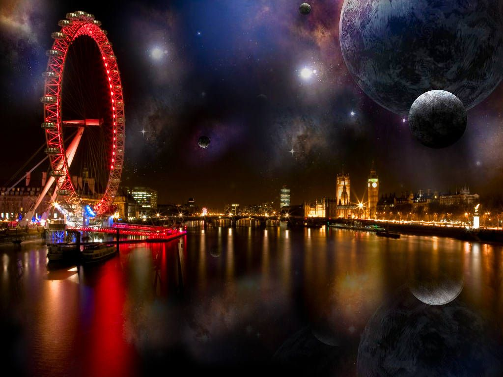 London Magic City London Night City