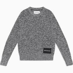 Photo of Calvin Klein Pullover aus gekämmter Baumwollmelange S Calvin KleinCalvin Klein