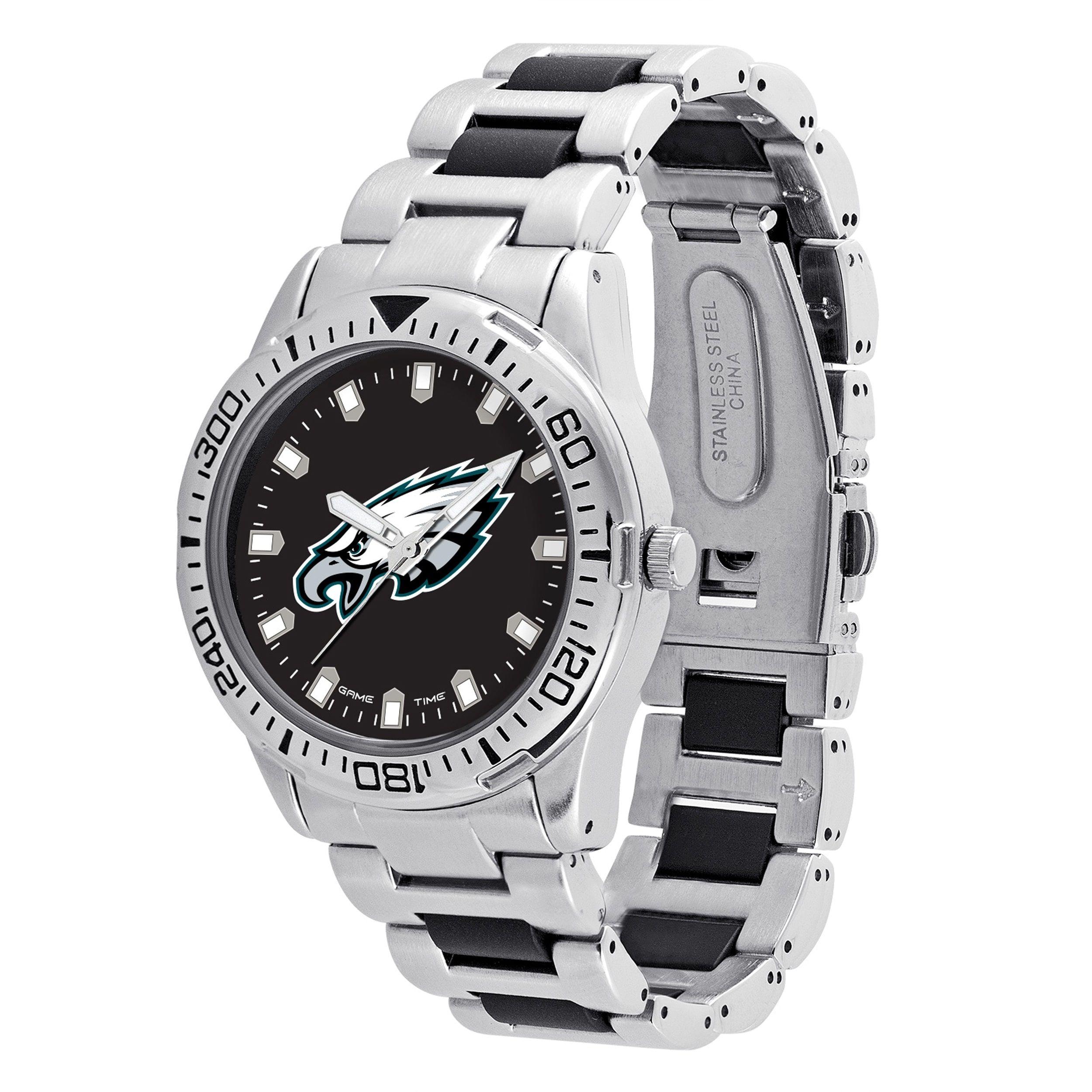 02772636 Game Time Philadelphia Eagles NFL Heavy Hitter Men's Watch | bleed ...