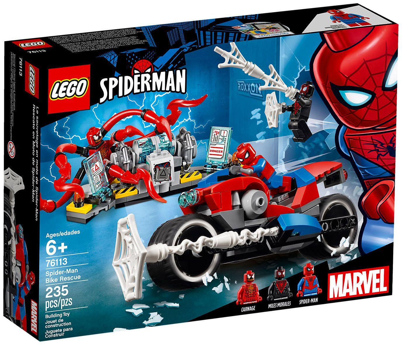 76114 Le v/éhicule araign/ée de Spider-Man Jeu de construction LEGO Marvel Super Heroes