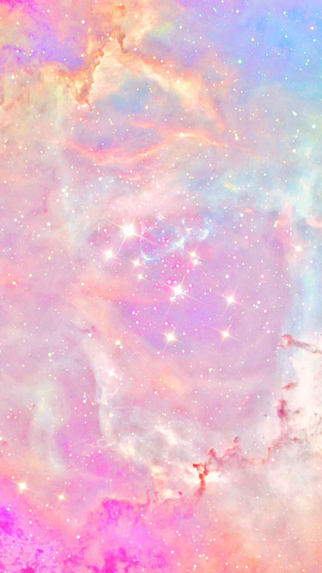 Girly outer space Galaxy wallpaper iphone, Pretty