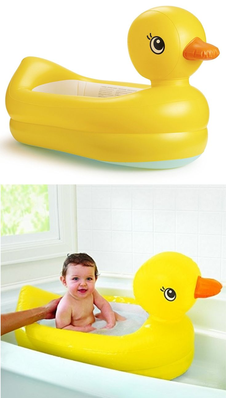 On Our List Of The Best Baby Tubs Is The Munchkin White Hot