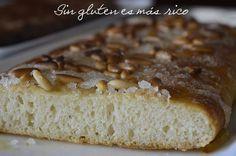 Sin gluten es más rico: Coca de forner sin gluten (con anís y piñones !!!!!!)