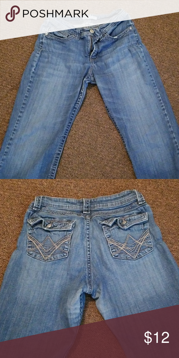 88a6e081 Lee Slender Secret jeans They are lower on the waist...no stains or flaws.  Lee Pants Boot Cut & Flare