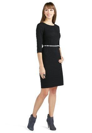 8fae69999405 Cato Fashions Zebra Belted Knit Dress #CatoFashions | ~ Dress ~