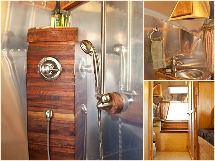 Glamorous RV Bathrooms RV Living Pinterest Bathroom - Small travel trailers with bathroom for bathroom decor ideas
