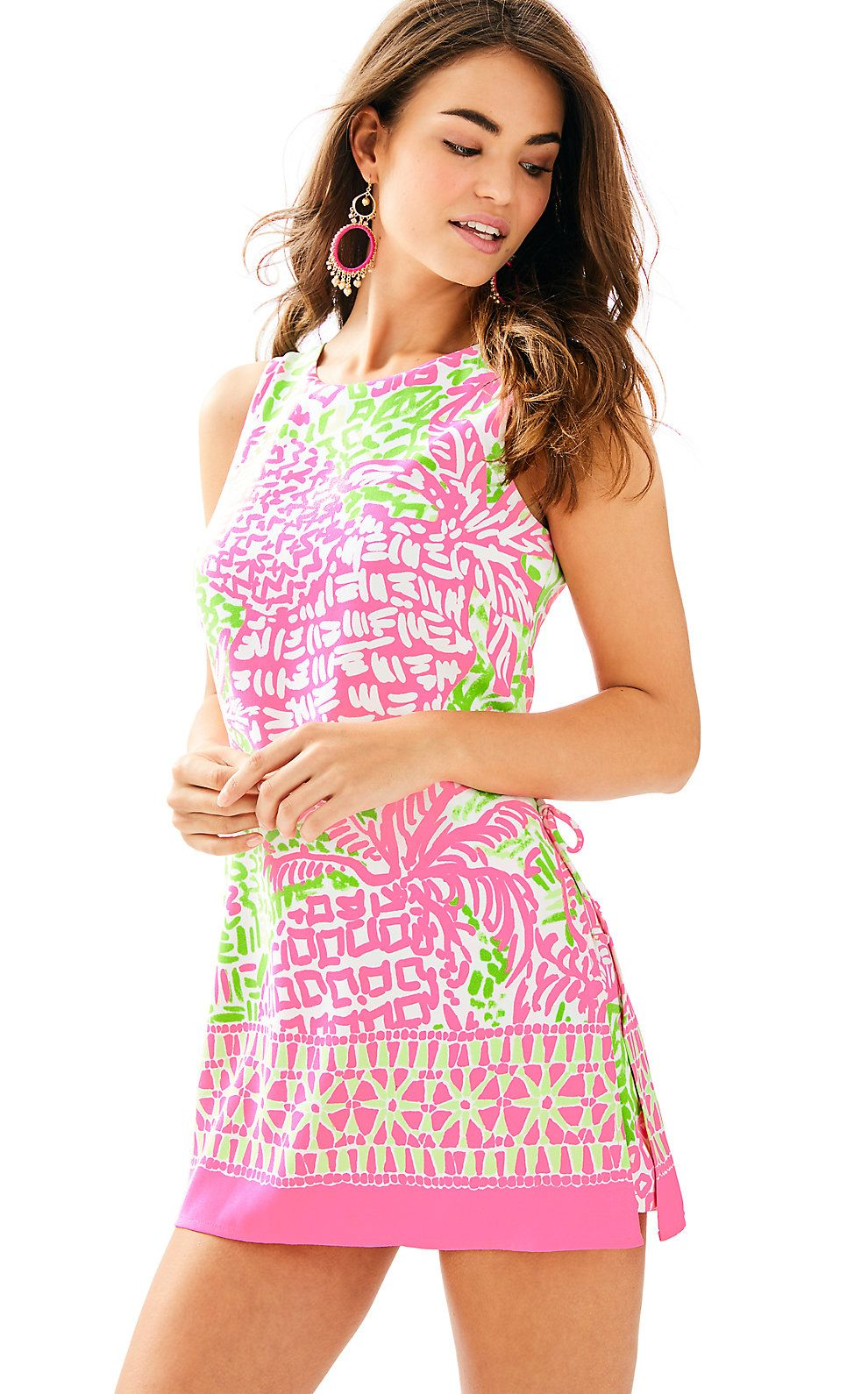 0b7a88dcb637 Lilly Pulitzer Womens Donna Shift Romper (Size 0)