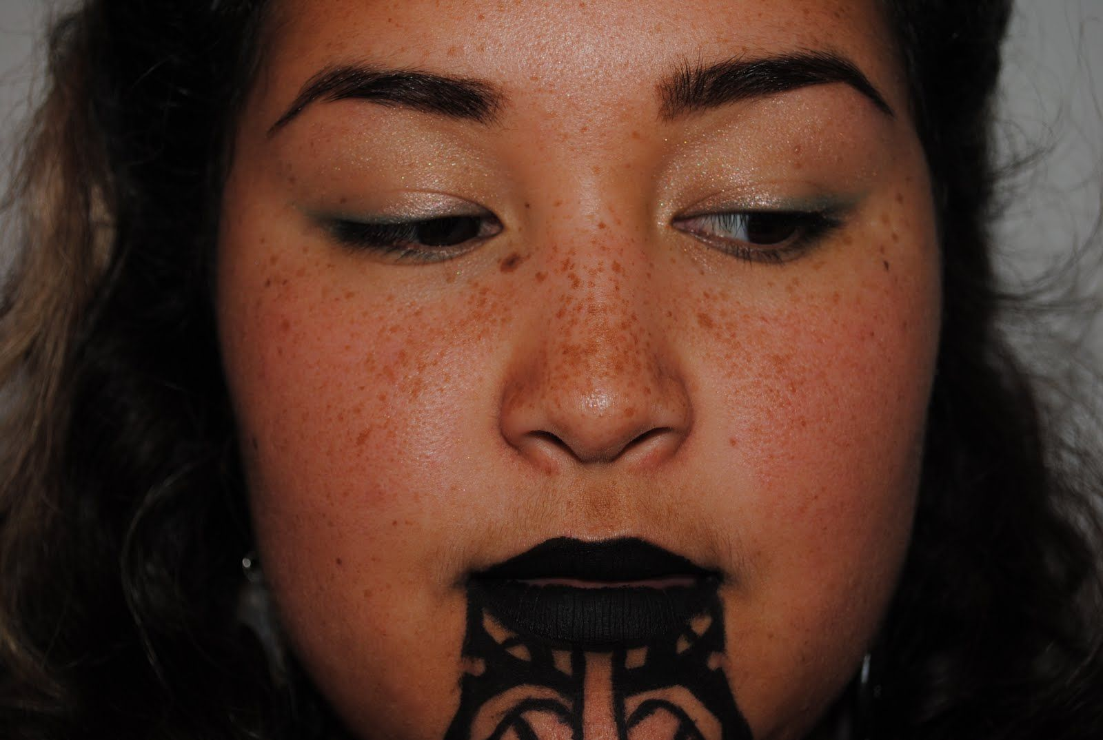 Female Maori Mouth Tattoos: ... Bored After The Bird S Eyes I Did So I Did A