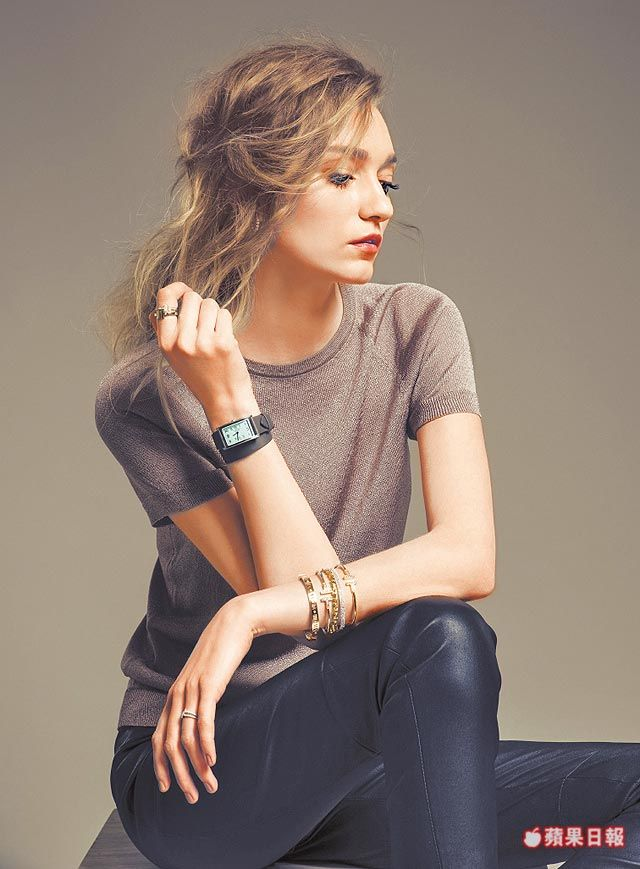 Tiffany EastWest新錶現 迷你款更優雅   蘋果日報