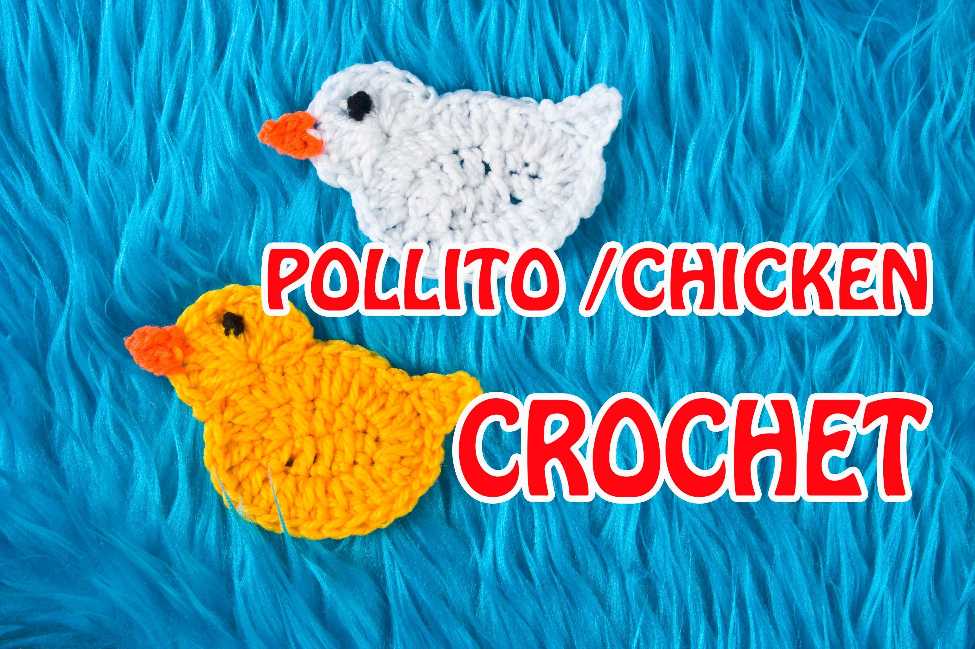 COMO HACER UN POLLITO DE PASCUA A CROCHET FACIL. HOW TO DO EASY ...