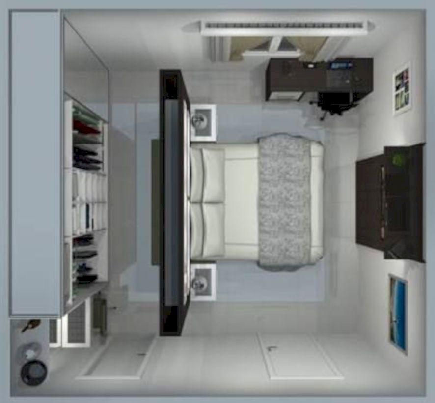 49 The Best Home Garage Design Ideas For Your Minimalist Home Nel 2020 Camera Da Letto Con Cabina Armadio Idee Arredamento Camera Da Letto Idee Armadio Camera Da Letto