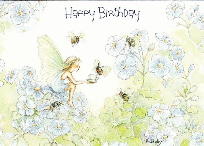 Becky kelly happy birthday fairy card becky kelly shop becky kelly happy birthday fairy card becky kelly shop bookmarktalkfo Image collections