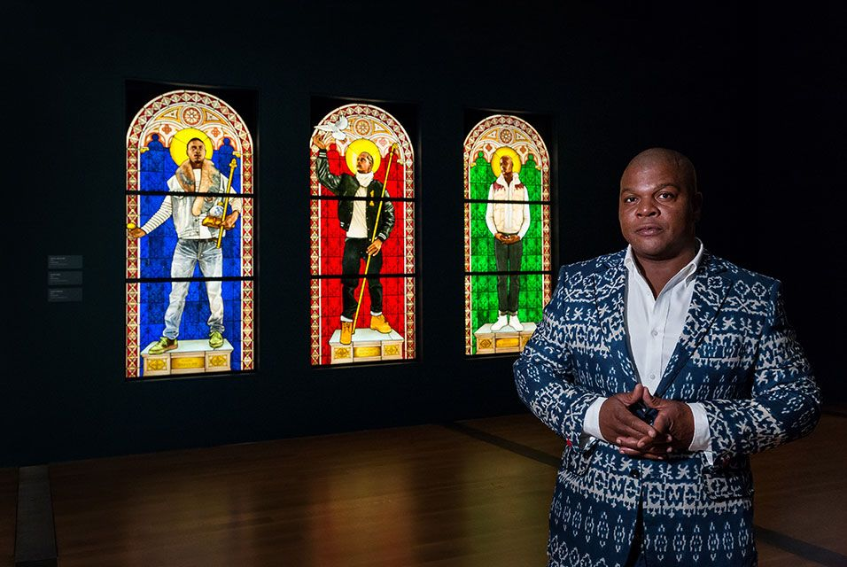 A mid-career retrospective of prolific artist Kehinde Wiley opens at the Virginia Museum of Fine Arts