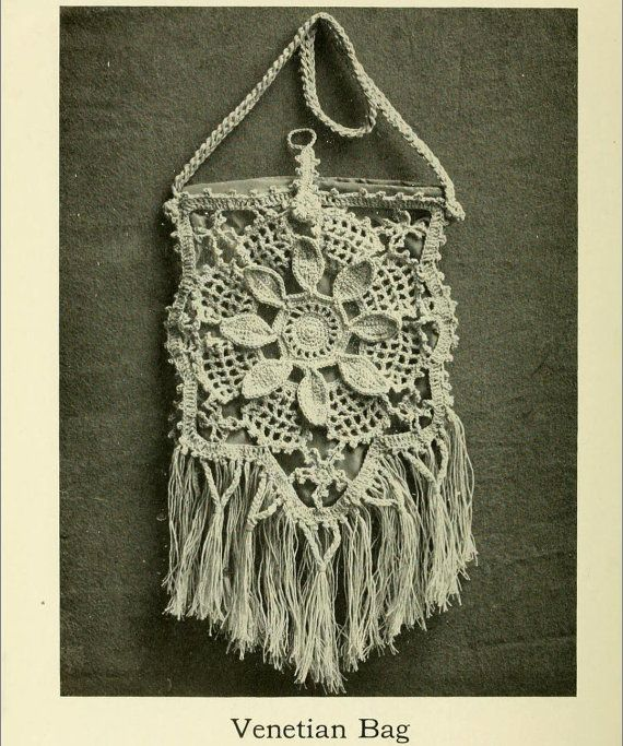 INSTANT DOWNLOAD Vintage 1915 fine crochet pattern by biancastouch ...