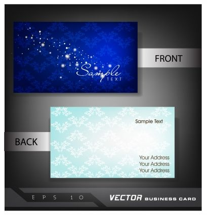 Business card size vector business card design free premium business card size vector business card design reheart Choice Image