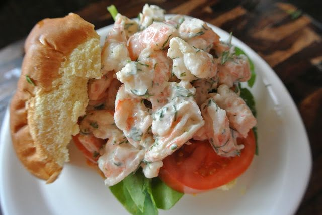 Shrimp Salad Sandwiches (Clean Eating) - The Candid RD