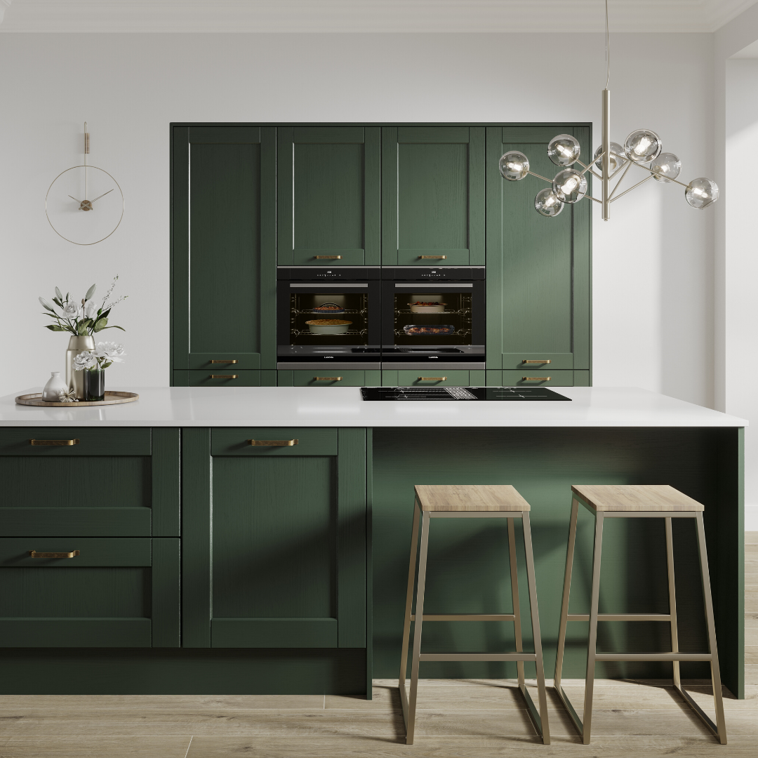 look at this green kitchen pair green kitchen cabinets