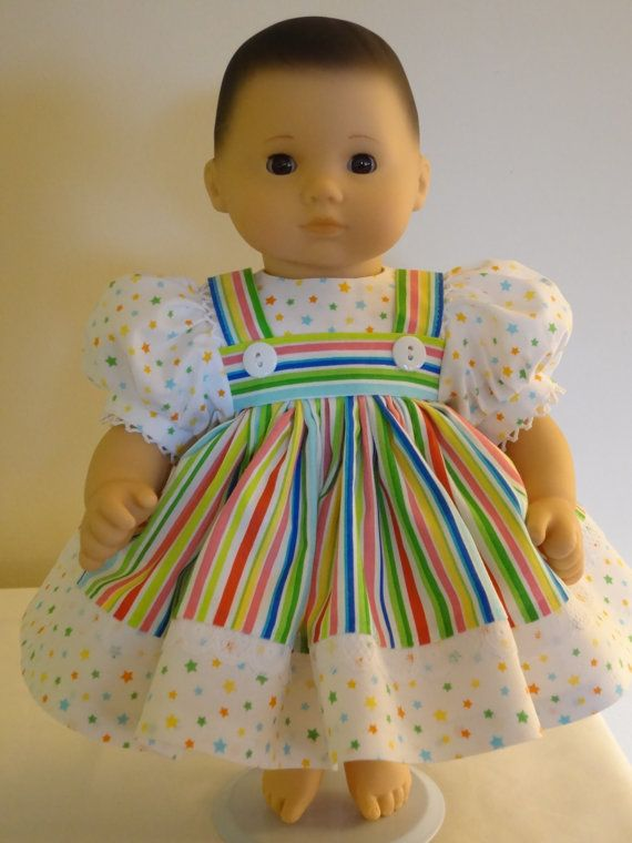 Dress for 15 inch Bitty Baby doll | Pinterest