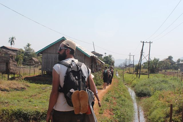 Trek from Kalaw to Inle Lake, Myanmar