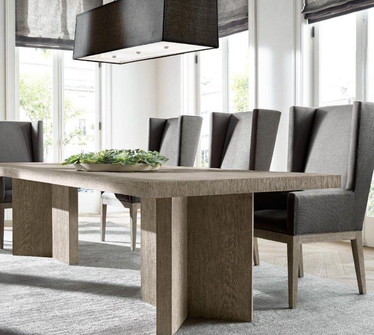 The Most Sophisticated Dining Room Furniturerestoration Adorable Restoration Hardware Dining Room Sets Design Ideas