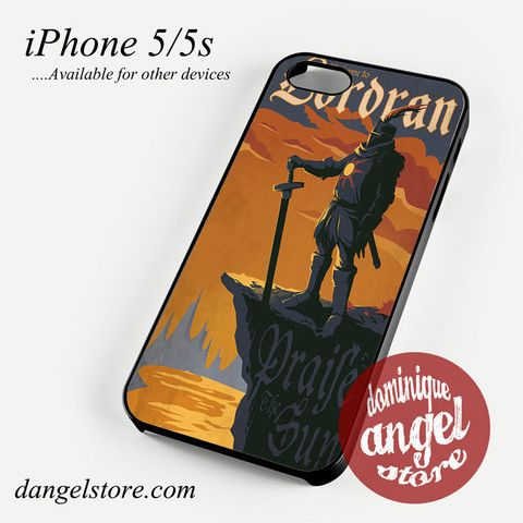 Dark Soul Wellcome toLordran Phone case for iPhone 4/4s/5/5c/5s/6/6s/6 plus
