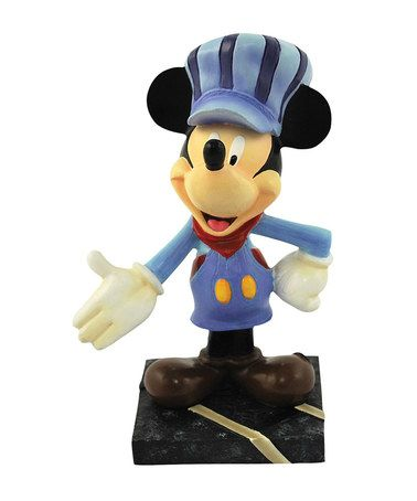 Another great find on #zulily! Mickey \'All Aboard\' Mini Figurine ...