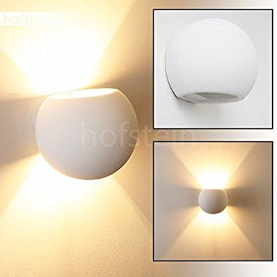 Wandlampe Wohnzimmer Flot mit schönem Lichtkegel - Runde Leselampe ...