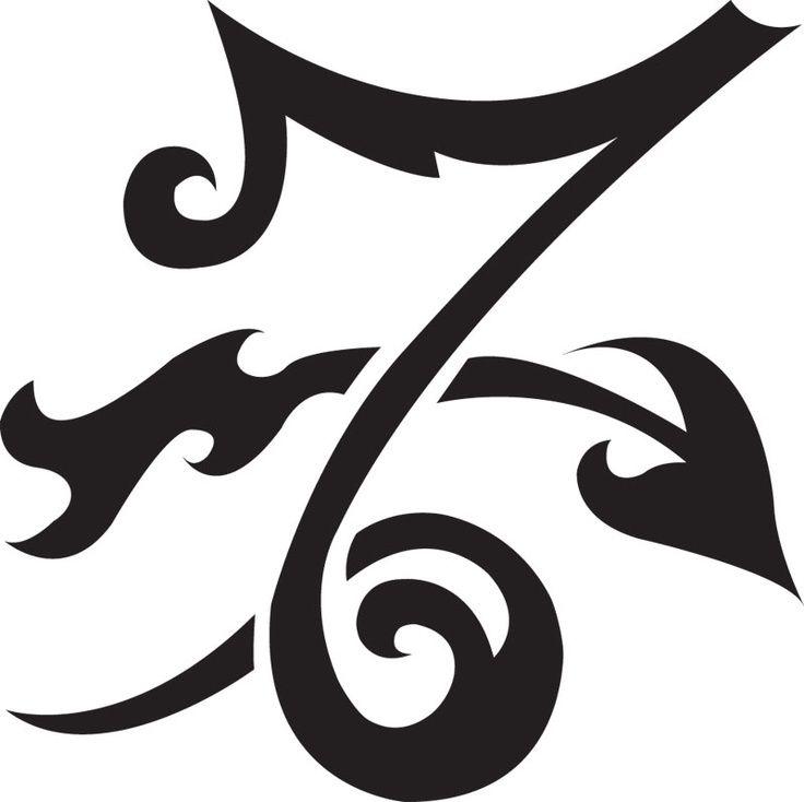 Black Zodiac Symbol Capricorn Tattoo Design Tatuajes Pinterest