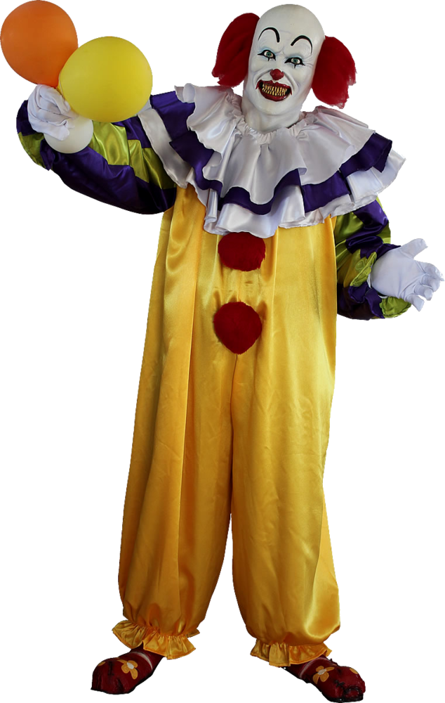 pennywise the it clown scary clown costume halloween